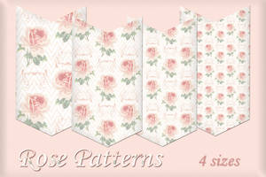 Rose Pattern by auRoraBor