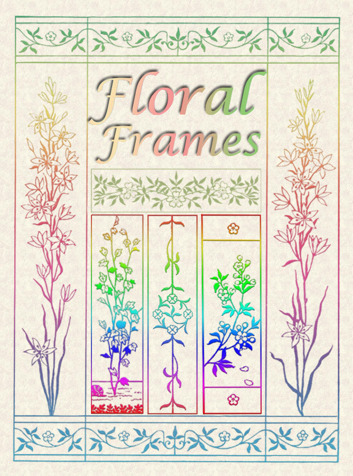 Floral Frames by auRoraBor
