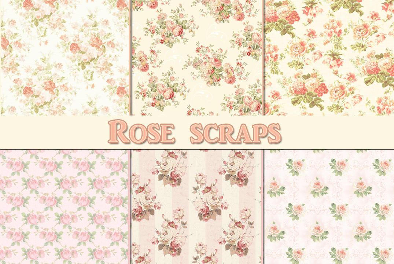 Rose scraps by auRoraBor