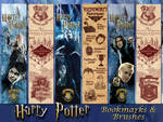 Harry Potter Bookmarks and brushes