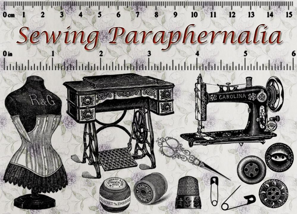 Sewing Paraphernalia by auRoraBor
