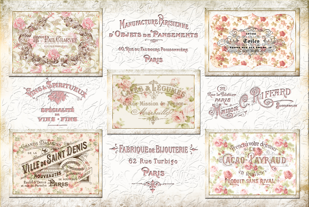 French cards by auRoraBor