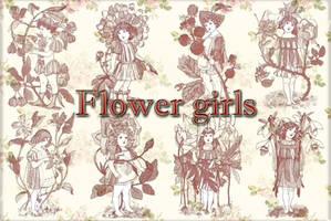 Flower Girls by auRoraBor