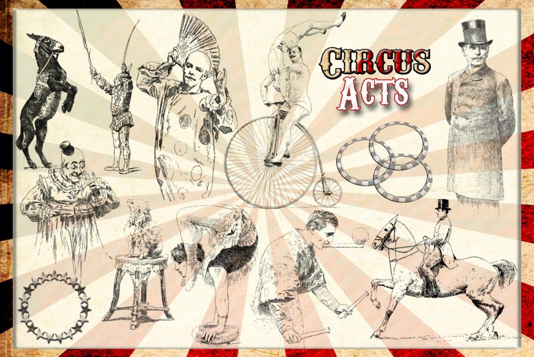 Vintage Circus Art 26