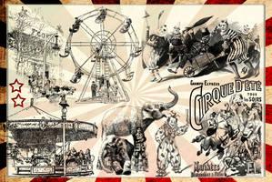 Vintage Circus 3 by auRoraBor