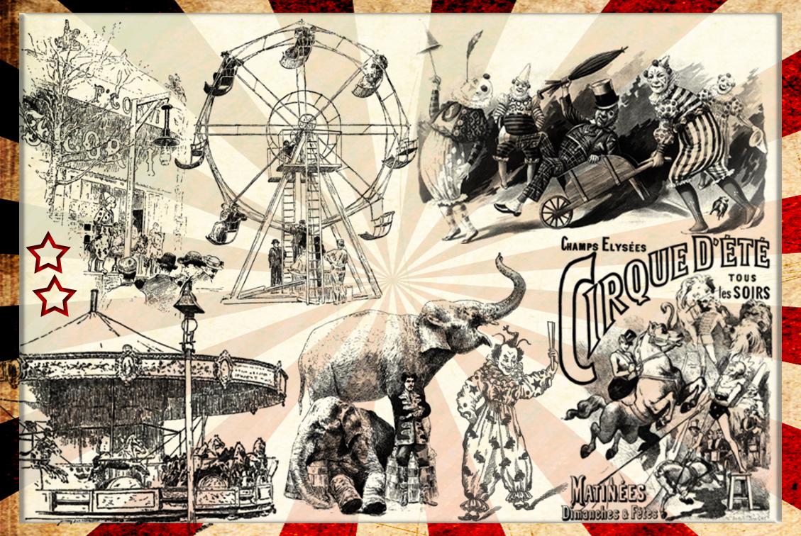 Vintage Circus 3 by auRoraBor on DeviantArt