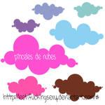 Pinceles de nubes :)