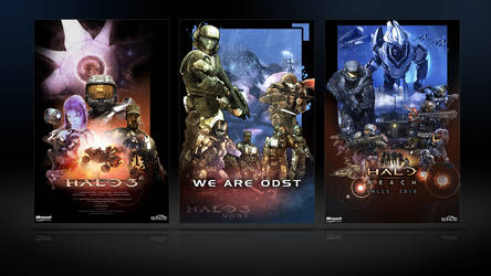 Halo Poster Pack