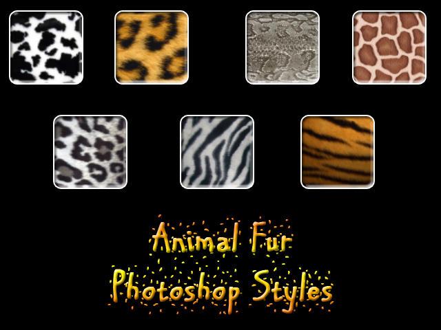 Animal Fur Photoshop Styles by Billy-Belynda