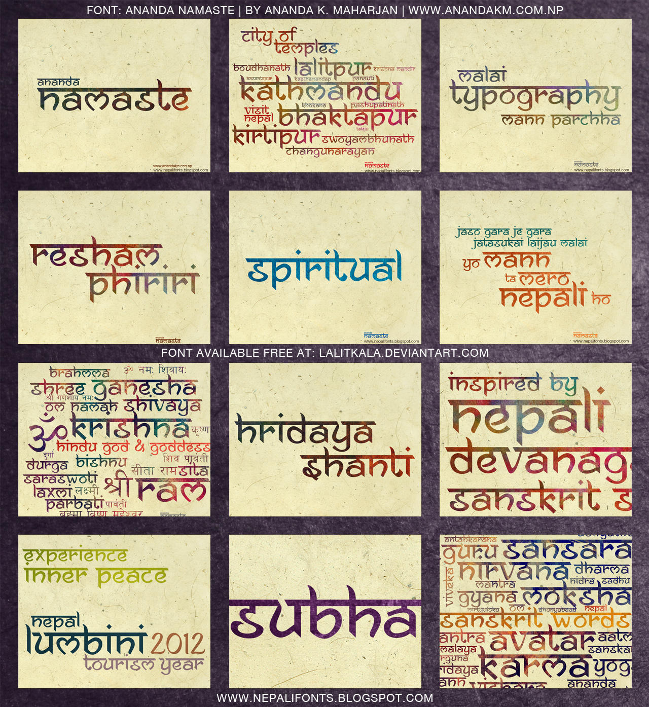 english font in hindi style
