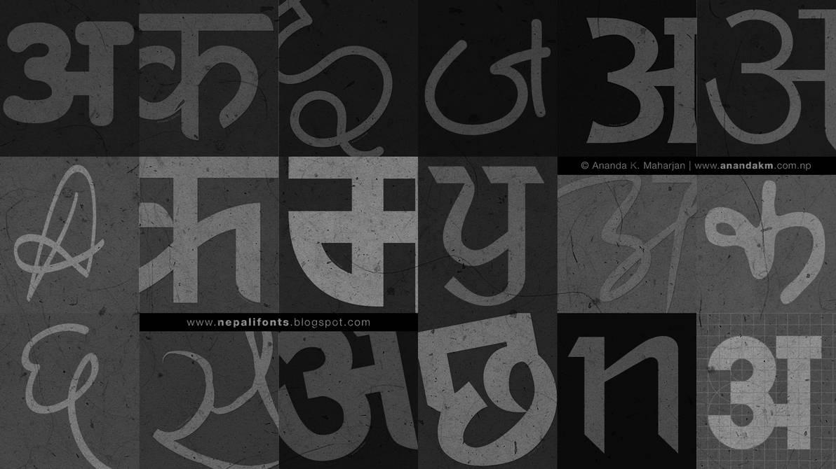 Ananda Nepali Fonts Collection by lalitkala on DeviantArt