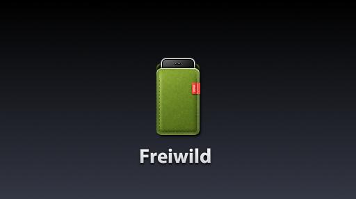Freiwild iPhone Sleeve Icon by TinyLab