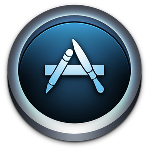 App Store Icon for Mac OS X