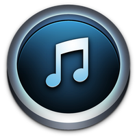 iTunes Icon for Mac OS X by TinyLab
