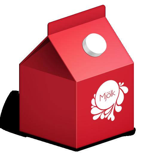 Milk Carton Icon by TinyLab