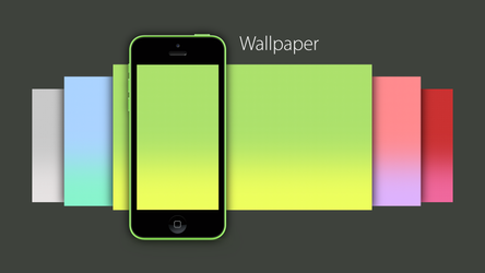 iPhone 5C Wallpaper by TinyLab