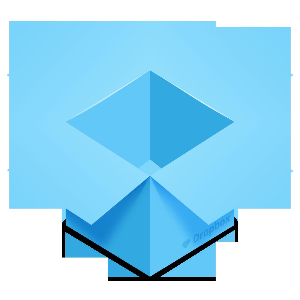 Dropbox Icon (Yosemite Style)