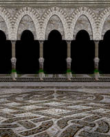 Arched Court-Scene Stock by shd-stock
