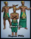 Egyptian King-Figure Stock