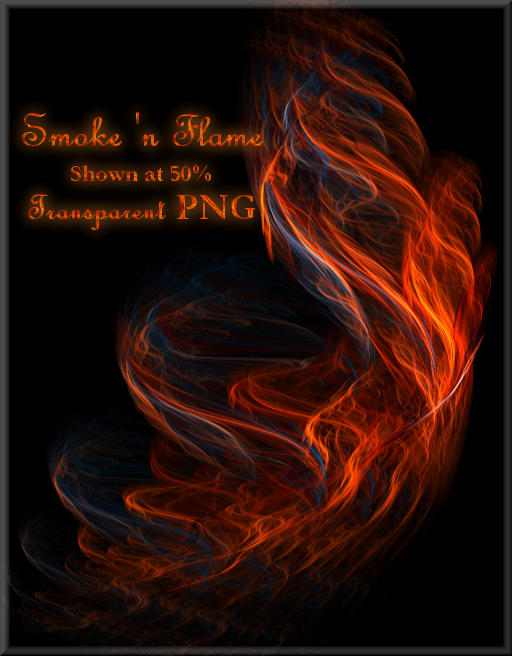 Smoke 'n Flame Fractal by shd-stock