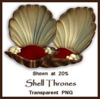 Shell Throne by shd-stock