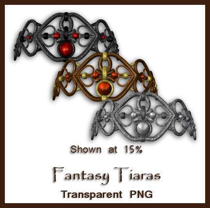 Fantasy Tiaras by shd-stock