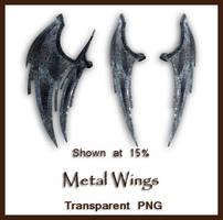 Metal Wings by shd-stock