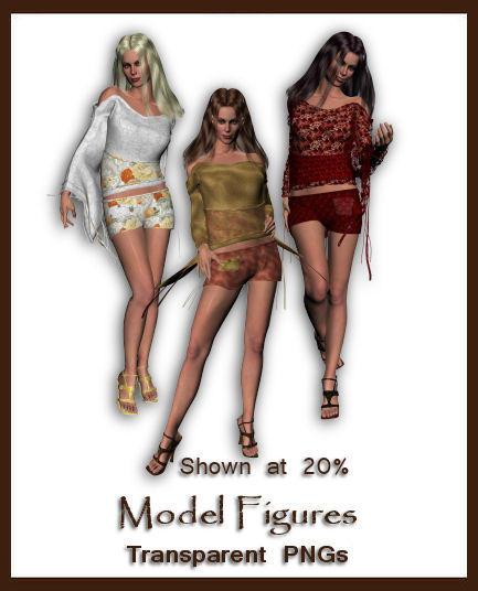 model figures by shd stock on deviantart