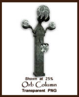 Orb Column by shd-stock