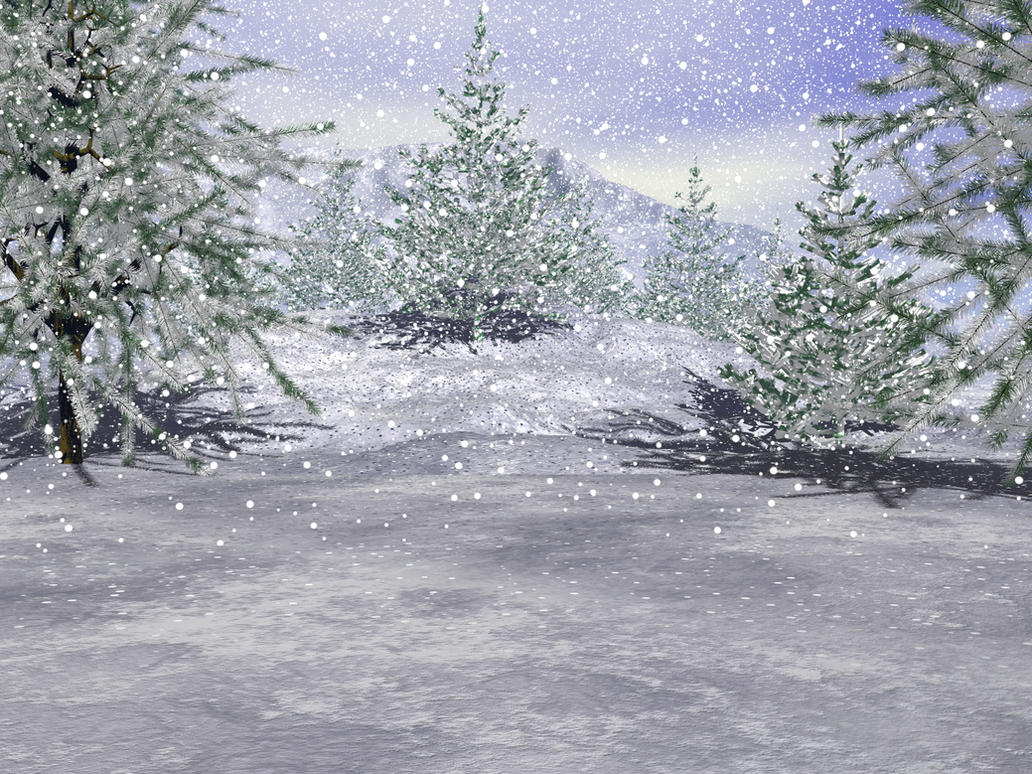 Winter Background 3 by shd-stock