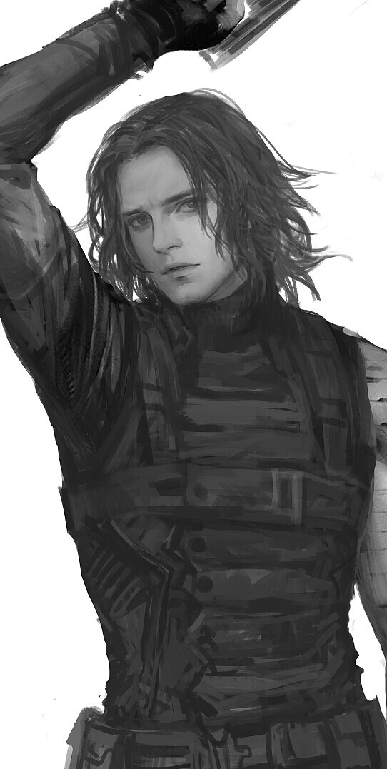 Ripped In Two - Bucky x Homeless! Reader by Kal-a-Cas on