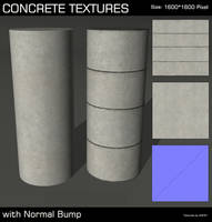 Seamless Concrete Textures by AGF81
