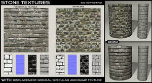Stone Textures- 1 by AGF81
