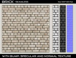 Brick Texture 6 - Seamless