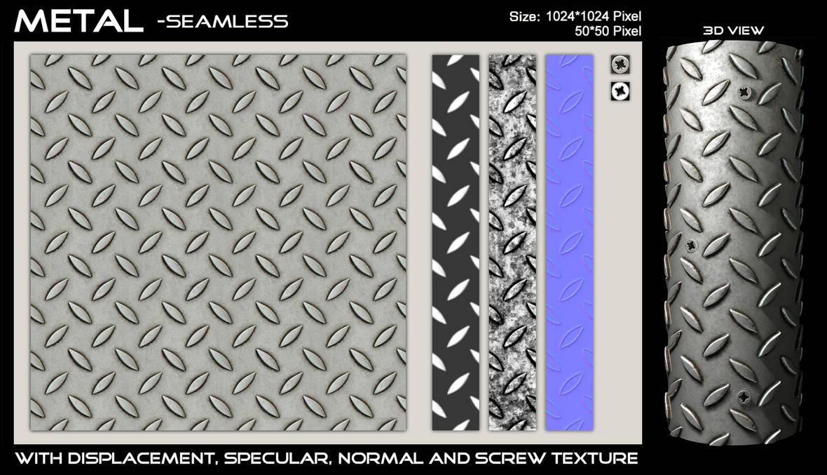 Metal Floor - Seamless by AGF81