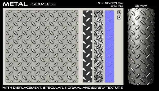 Metal Floor - Seamless