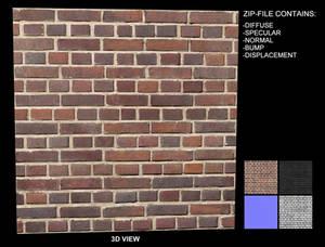 Brick Texture 9 - Seamless