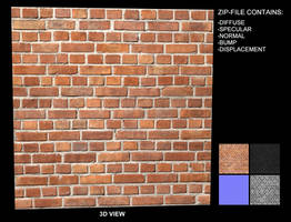 Brick Texture 10 - Seamless by AGF81