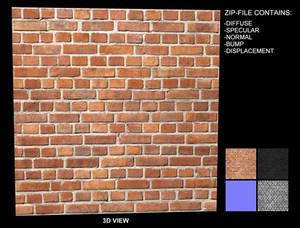 Brick Texture 10 - Seamless