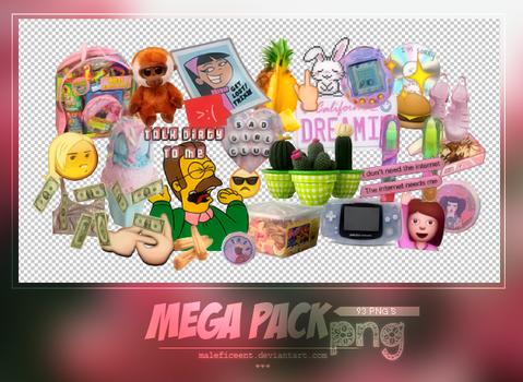 Mega pack png.