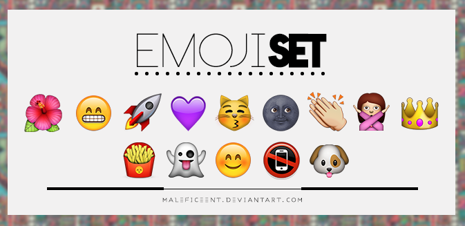 Emoji set | 2O files. by Maleficeent
