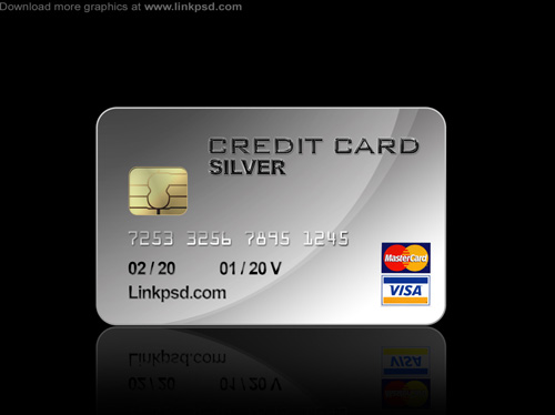 Credit Card PSD file