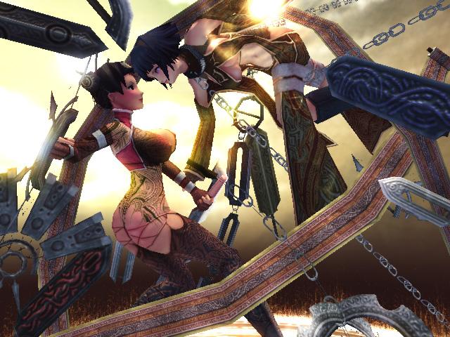 Hinata and Tenten :3D Viewer:
