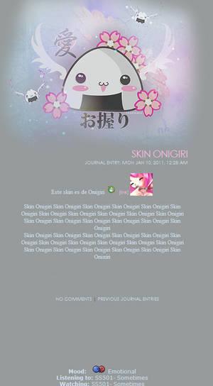 Onigiri Journal Skin 1