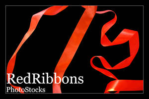 Red Ribbons Photo Stock
