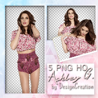 PNG Pack - Ashley G. - By Design Creations by DesignCreationsOffi