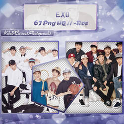Photopack png 01~ EXO by KiloDCarnesPhotopack
