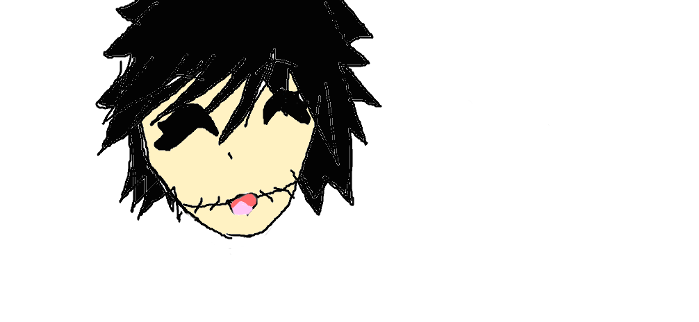 random drawing of my oc by creepypastaqueen167