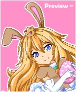 . + * Princess Peach Bunny - Happy Easter! * + .