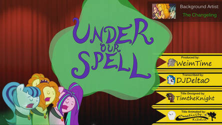Under Our Spell - Title animation by jerry411